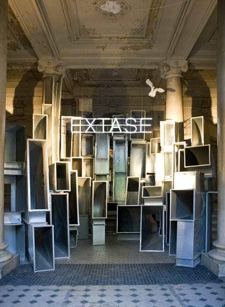 EXTASE entrance, Wagner 200, 2013