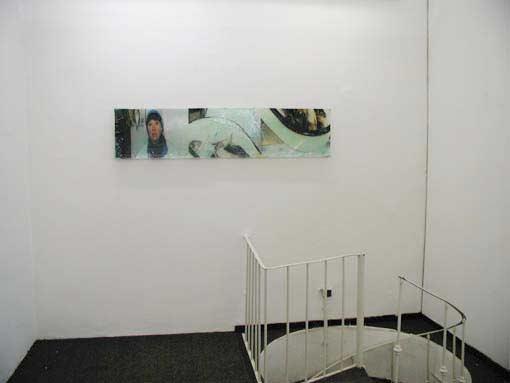 "Galerie Gabriel, ""it´s just a glimpse"" 1999"