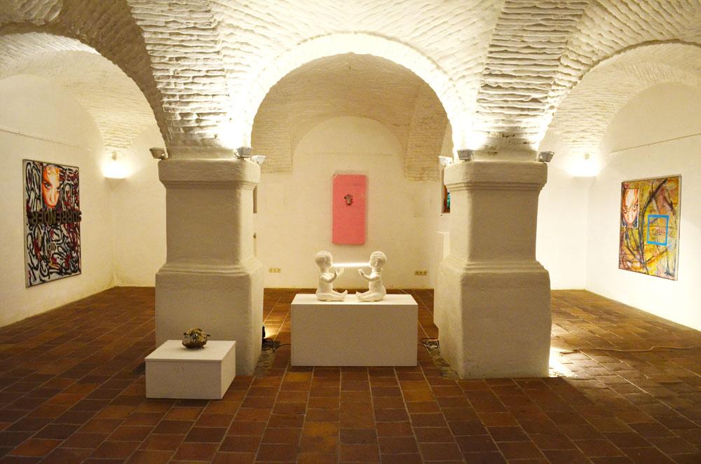 fratres, kulturbrücke, Kunst und Widerstand, 2014, exhibion view