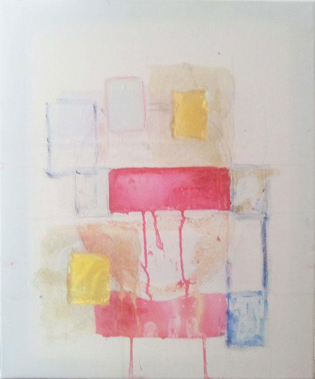 ia on canvas, resin, 25 x 15, 2014